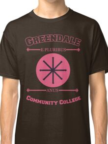 Greendale Community College E Pluribus Anus Classic T-Shirt
