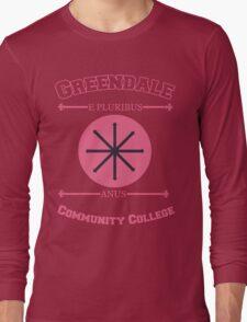 Greendale Community College E Pluribus Anus Long Sleeve T-Shirt