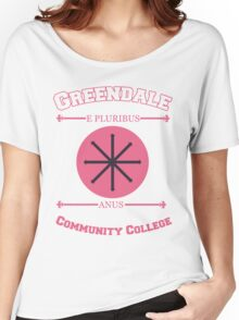 Greendale Community College E Pluribus Anus Women's Relaxed Fit T-Shirt