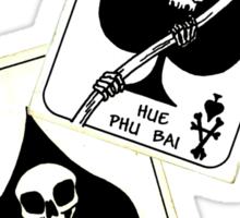 Death Cards Sticker