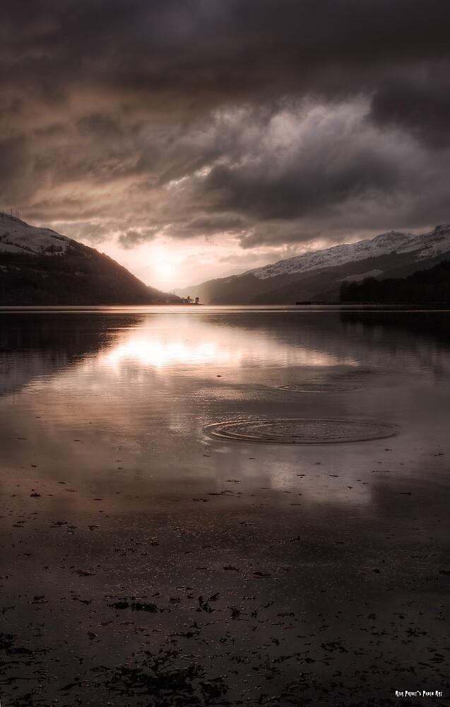 Sunset's Gold    Arrochar and Loch Long, Scotland by Anir Pandit
