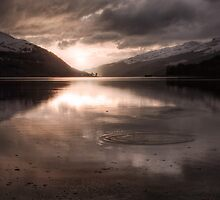 Sunset's Gold || Arrochar and Loch Long, Scotland by Anir Pandit