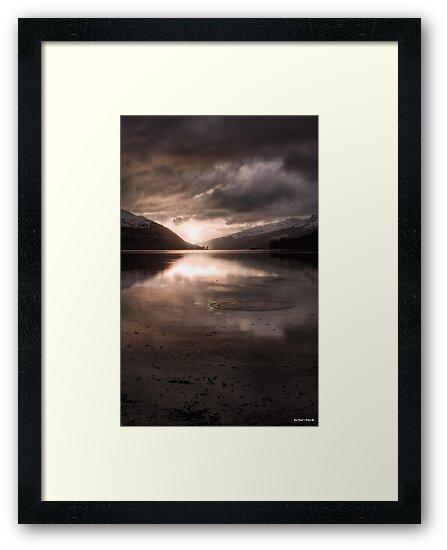 Sunset's Gold || Arrochar and Loch Long, Scotland by Anir Pandit