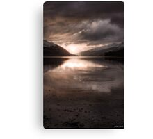 Sunset's Gold || Arrochar and Loch Long, Scotland Canvas Print