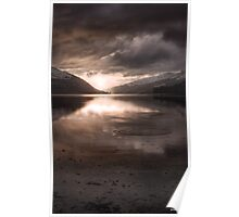 Sunset's Gold || Arrochar and Loch Long, Scotland Poster