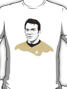 Star Trek James T. Kirk (William Shatner) illustration T-Shirt