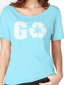 Earth Day Go Green Women's Relaxed Fit T-Shirt