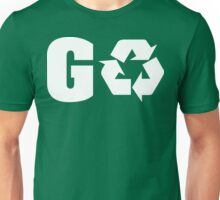 Earth Day Go Green Unisex T-Shirt