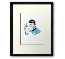 Star Trek Spock  Framed Print