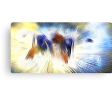 Hunting High & Low Canvas Print