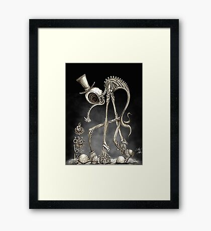 The Stroll Framed Print