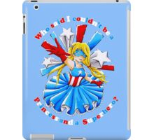 Who said I couldn't be a Princess and a Superhero? iPad Case/Skin