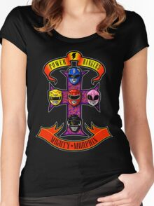 Appetite for Morphin! Women's Fitted Scoop T-Shirt
