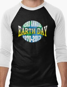 Earth Day 2013 Men's Baseball ¾ T-Shirt