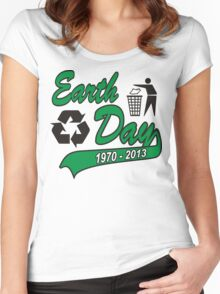 Earth Day 2013 Women's Fitted Scoop T-Shirt