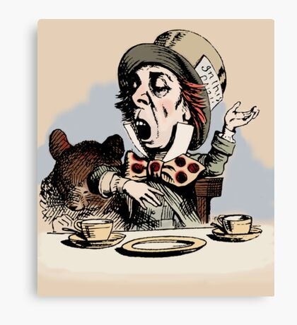 Mad Hatter Color Canvas Print