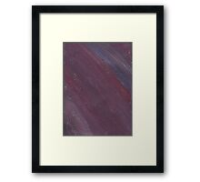 COLORED DARK HAZE Framed Print