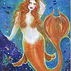 Audrey Voluptuous mermaid by Renee Lavoie