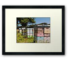 beehives 7 Framed Print