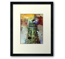 Dalek invasion of Earth, AD 2013 Framed Print