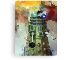 Dalek invasion of Earth, AD 2013 Canvas Print