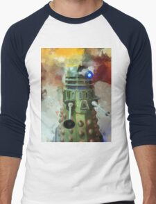 Dalek invasion of Earth, AD 2013 Men's Baseball ¾ T-Shirt