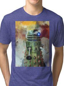 Dalek invasion of Earth, AD 2013 Tri-blend T-Shirt