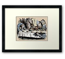 Mad Tea Party Color Framed Print