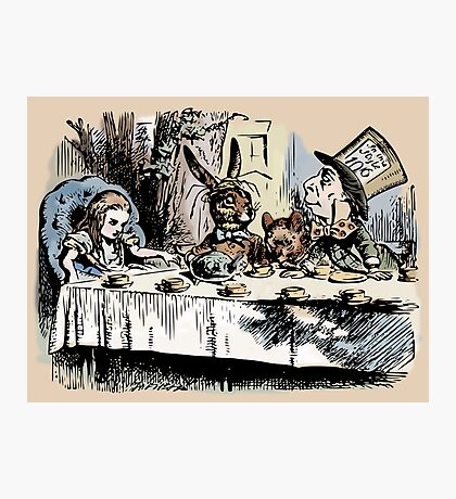 Mad Tea Party Color Photographic Print