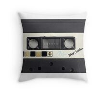retro cassette tapes  Throw Pillow