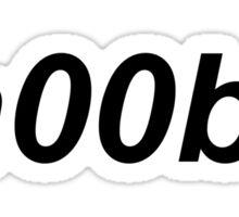 n00b! Sticker