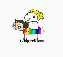 Brittana Ship is sailing. T-Shirt