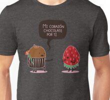 Mi Corazón chocolate por ti Unisex T-Shirt