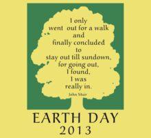 Earth Day 2013 John Muir Kids Clothes