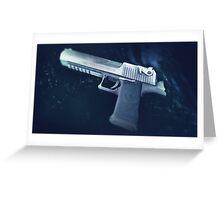 CSGO Gun Series | DEAGLE Waves Greeting Card