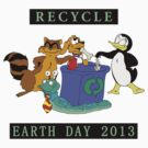Earth Day 2013 Recycle by HolidayT-Shirts