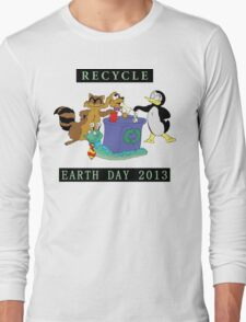 Earth Day 2013 Recycle Long Sleeve T-Shirt