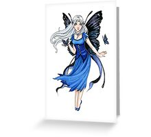 Little Blue Diadem Greeting Card