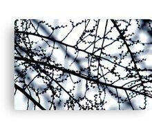 Monochrome harvest Canvas Print