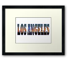 LA Framed Print