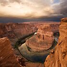 Desert Sunrise over Horseshoe Bend by Matt Tilghman