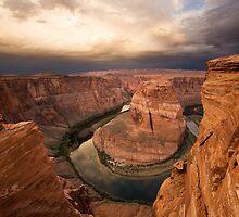 Desert Sunrise over Horseshoe Bend by Matt Tilghman