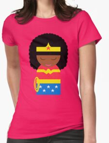 Wonder WoC Womens Fitted T-Shirt