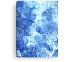 PEACEFUL BLUE Canvas Print