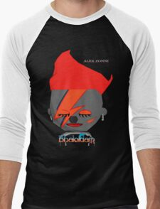 Bhaloidam Homage to Aladdin Sane Men's Baseball ¾ T-Shirt