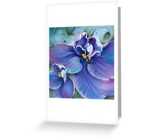 """The Violet"" Greeting Card"