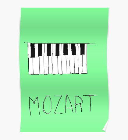 mozart poster  Poster