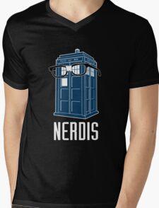 N.E.R.D.I.S Mens V-Neck T-Shirt