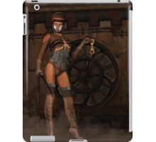 Steampunk Sally - Dominatrix iPad Case/Skin