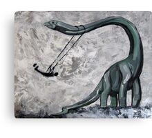 Dino Swing Canvas Print